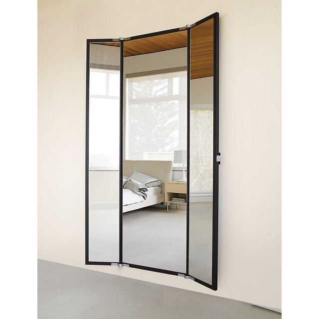 Black BellaVista Wall Mirror - Image 2 of 4