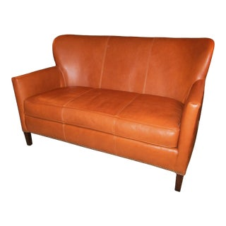 Leather Sofa by Lee Furniture For Sale