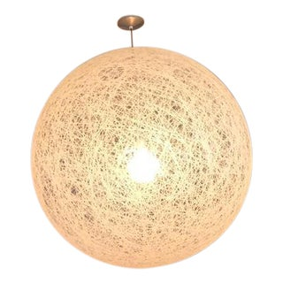 Large Dwr Pendant Globe Light