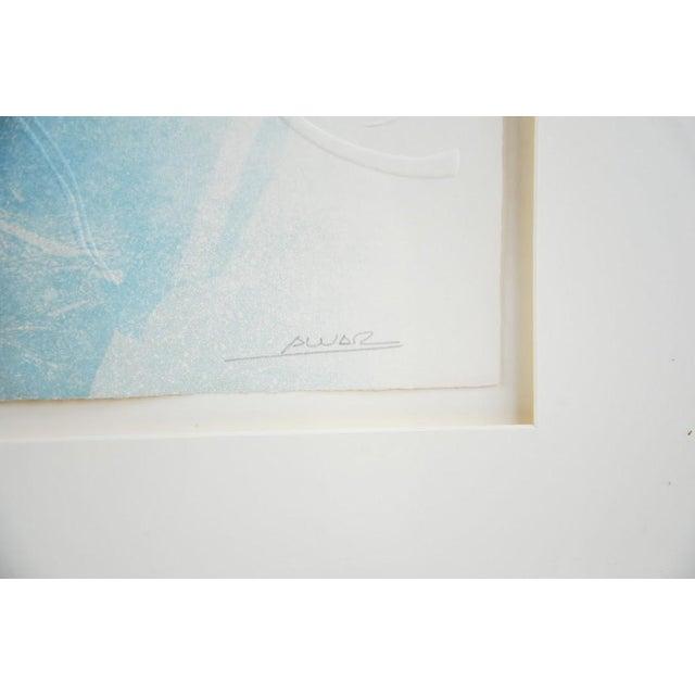"Original Sunol Alvar Embossed Lithograph ""La Diligence and La Folie"" - Image 7 of 11"