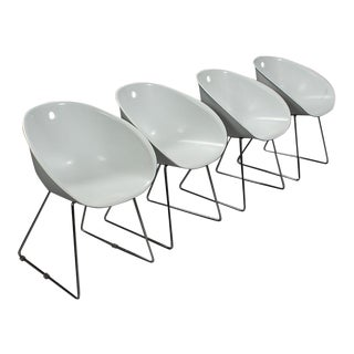 Modern Claudio Dondoli & Marco Pocci Gliss 920 Chairs- Set of 4 For Sale