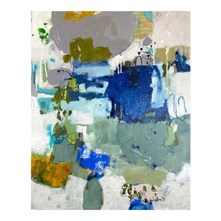 """Abstract Mixed Media Painting by Gina Cochran """"Too Much & Too Often"""" For Sale"""