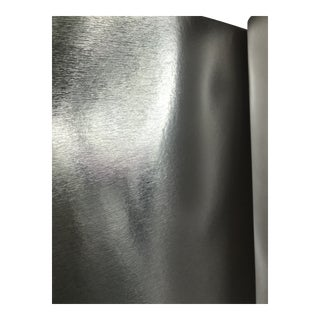 Phillip Jeffries Vinyl Silver Wall Covering For Sale