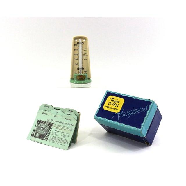 1930s Oven Thermometer & Original Recipe Box - Image 4 of 7
