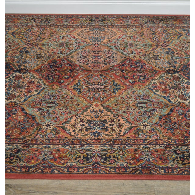 Karastan Multicolor Panel 5.9 X 6.9 Area Rug # 717 For Sale In Philadelphia - Image 6 of 13