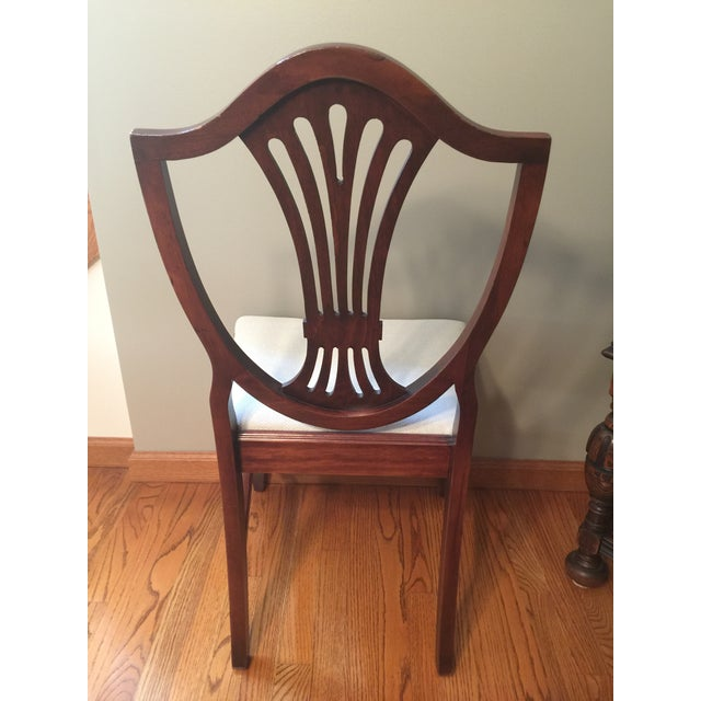 Wood Early 20th Century Hepplewhite Chair For Sale - Image 7 of 11