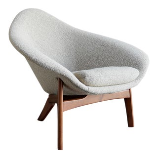 "1960s Vintage Adrian Pearsall ""Coconut"" Chair For Sale"