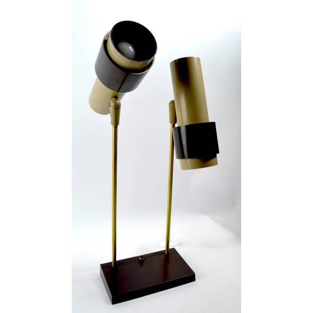 Mid-Century Modern Thurston for Lightolier Two-Light Desk Lamp For Sale - Image 3 of 6