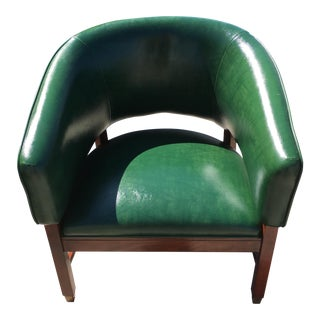 Vintage Barrel Gaming Chair Thonet for Shelby Williams For Sale