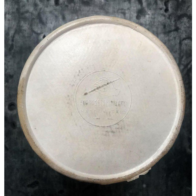 """Brass Set of Eight Vintage Piero Fornasetti """"Monete"""" Little Plates, Italy, 1970s For Sale - Image 7 of 8"""