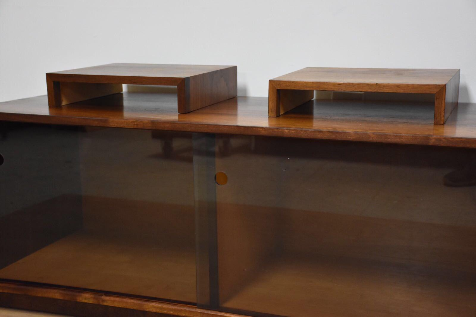 Solid Walnut Record Cabinet Tv Stand   Image 5 Of 10