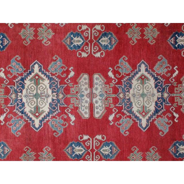 "Leon Banilivi Kazak Carpet - 8'6"" X 10'2"" For Sale - Image 7 of 8"