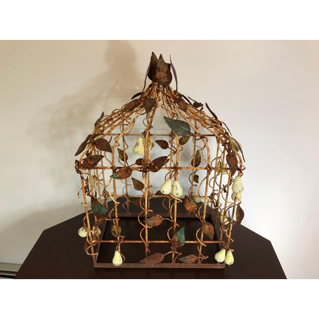 Early 20th Century Tole Birdcage For Sale In Philadelphia - Image 6 of 7