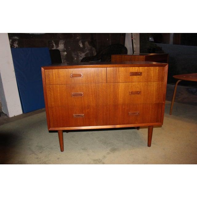 Lyby Mobler Mid-Century Danish Modern 4 Drawer Dresser - Image 3 of 6