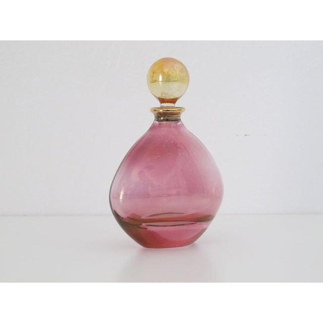 Iridescent Pink Perfume Bottle - Image 5 of 8
