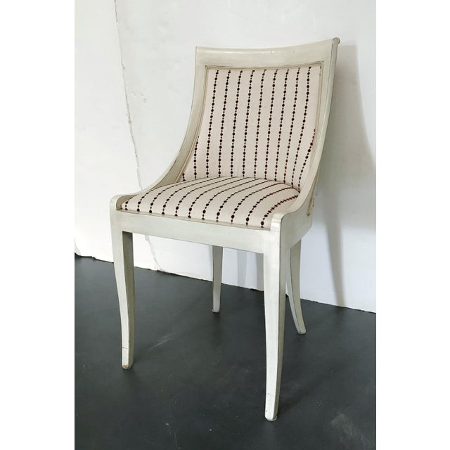 1980s Vintage Italian Chair For Sale - Image 4 of 10