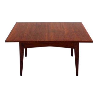 Mid-Century Modern Jens Risom Design Coffee Table For Sale