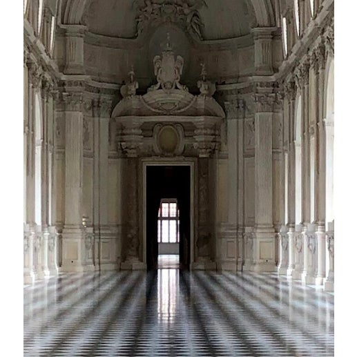 Photorealism 'Symmetry in Versailles' Framed Photography by R. Rivera For Sale - Image 3 of 8