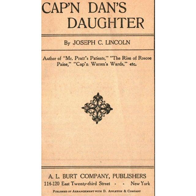 'Cap'n Dan's Daughter' Book by Joseph C. Lincoln - Image 2 of 5