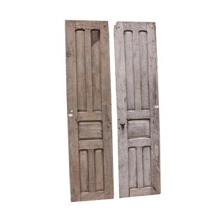 19th Century Rustic Doors - A Pair For Sale