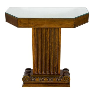1940's Hollywood Console by Lorin Jackson for Grosfeld House For Sale