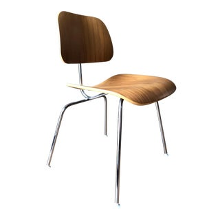 Herman Miller Eames Molded Plywood With Metal Base Dining Chair