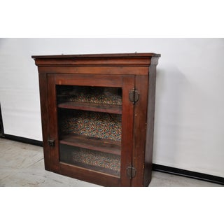 1950's Vintage French Cherry Wood Apothecary Cabinet Preview