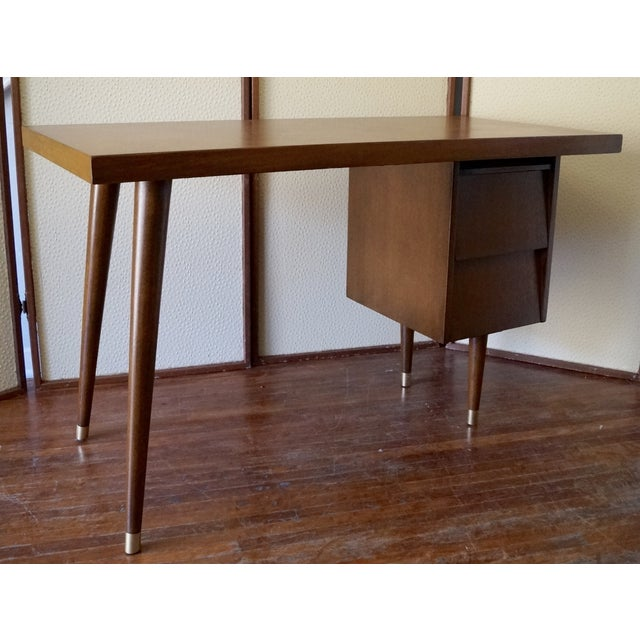 Barzilay Mid-Century California Modern Desk - Image 5 of 11