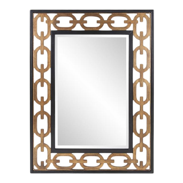 Kenneth Ludwig Chicago Chain Link Mirror For Sale