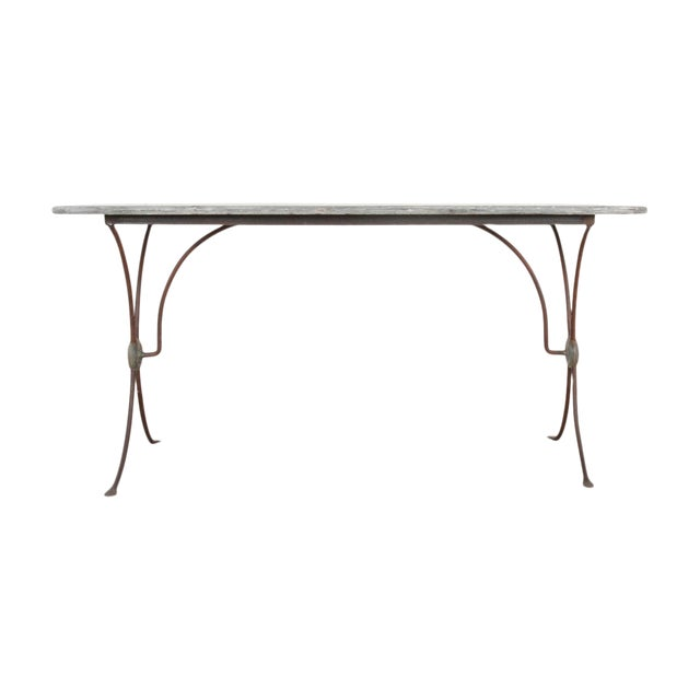 French 19th Century Art Nouveau Bistro Table For Sale