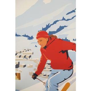 2019 Modern Retro Travel Poster - Ski Quebec Preview