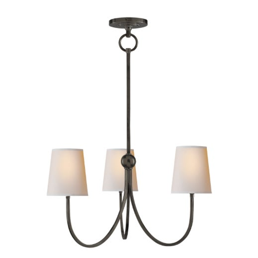 Traditional Visual Comfort Reed Chandelier Small For Sale - Image 3 of 3