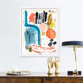 "Medium ""Gathering"" Print by Lesley Grainger, 17"" X 21"" Preview"