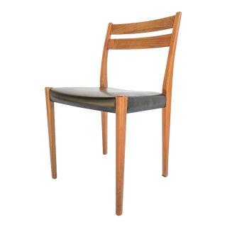 1960s Svegards Markaryd Swedish Modern Teak Dining / Side Chair For Sale