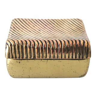 Ben Seibel for Jenfred-Ware Brass Table Box
