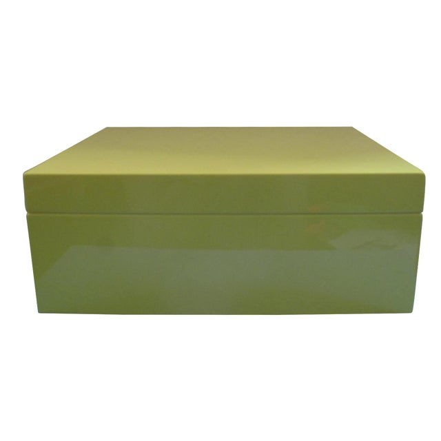 Lacquer Jewelry Box - Image 1 of 5