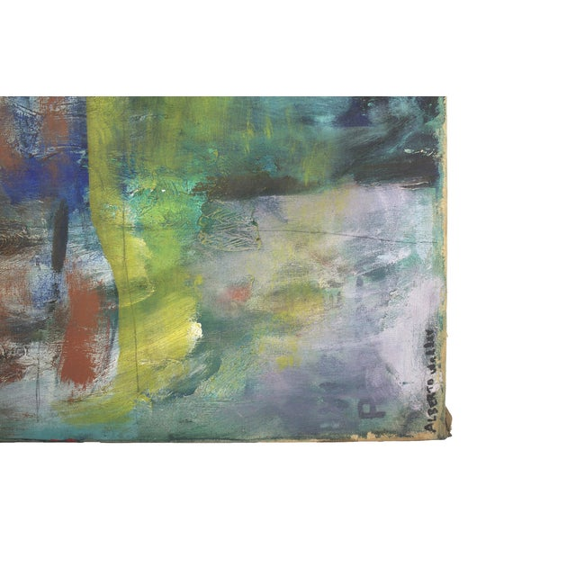 Modern Original Expressionist Painting by Alberto Weller For Sale - Image 3 of 6