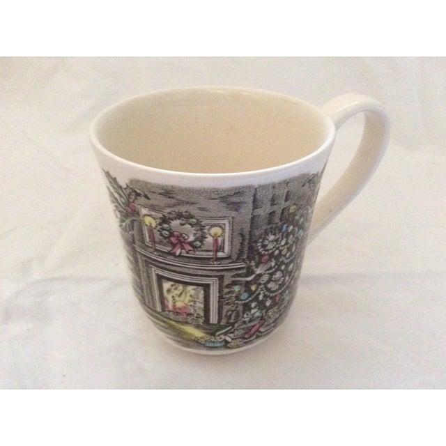 Johnson Brothers Christmas Coffee Mugs - Set of 8 For Sale - Image 4 of 7