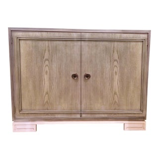Contemporary Lillian August for Hickory White Karl Door Cabinet For Sale