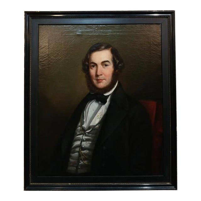 3f17b75ee5de 19th Century Portrait of Joseph Doel Oil Painting   Chairish