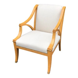 Dessin Fournir Large Therien Studios Biedermeier Arm Chair For Sale