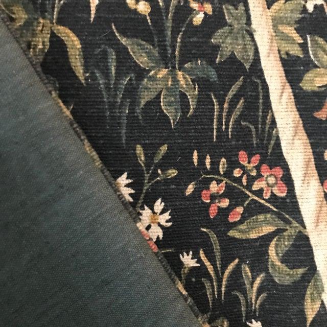 1970s Vintage Jp Paris Panneaux Gobelins Tapestry For Sale - Image 4 of 10