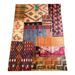 Turkish Patchwork Carpet For Sale