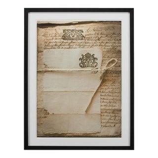 Sarreid Ltd. Framed Artist Edition Print, Rect. For Sale