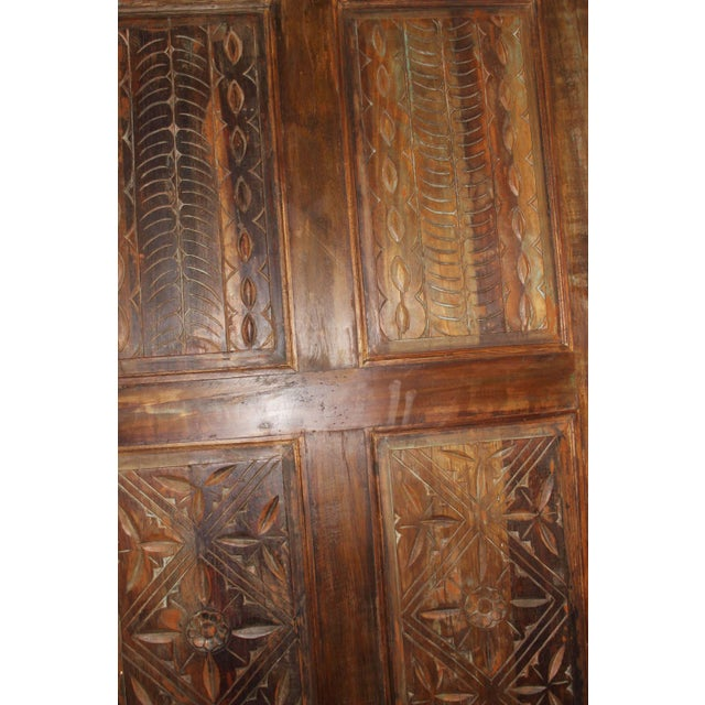 19th Century Antique Carved Door For Sale - Image 4 of 5