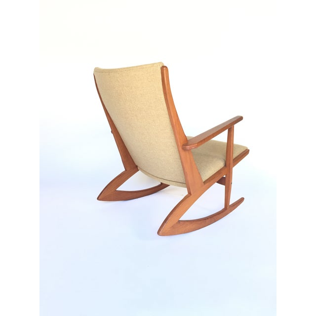 Holger Georg Jensen Rocking Chair For Sale - Image 4 of 4