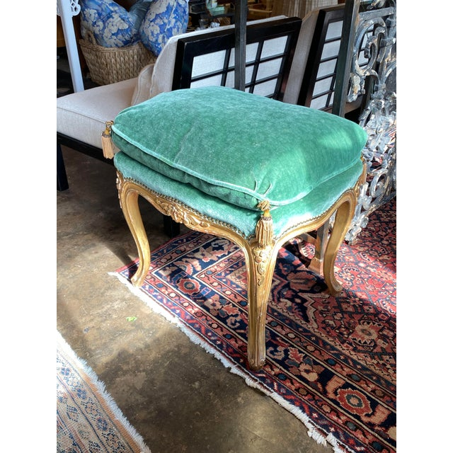 French 19th Century Louis XVI Tabouret - Ottoman For Sale - Image 3 of 10