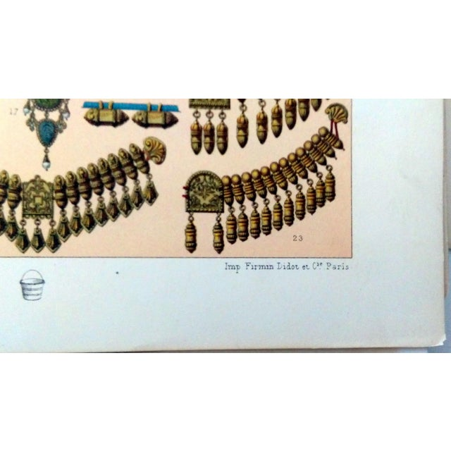 1888 Jewelry of Ancient Asia Lithograph - Image 4 of 7