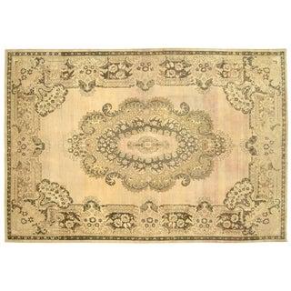 "Nalbandian - 1960s Turkish Oushak Carpet - 8'2"" X 12'1"" For Sale"