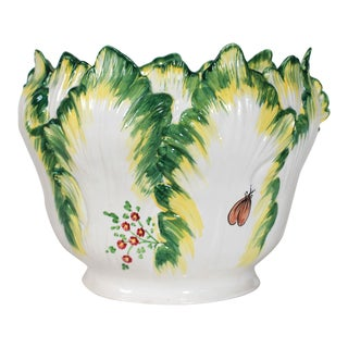 Chelsea House Italian Ceramic Planter For Sale